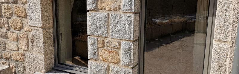 Fenêtres aluminium 1 vantail - Coloris grège ral 9007