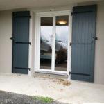 Fenêtre PVC et volets battants aluminium