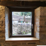 Fenêtre aluminium 1 vantail – Vue intérieure